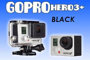 CAMARA Go Pro HERO3+ Black