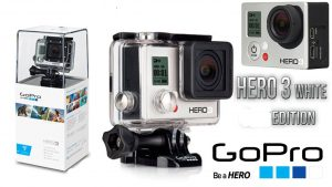 CAMARAS DEPORTIVAS: GOPRO HERO3 White Edition