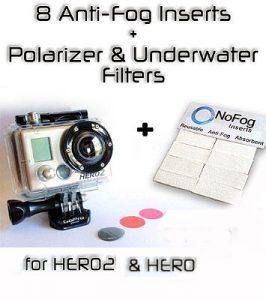 Placas antiempañamiento, Polarizador con todas las cámaras GoPro HERO2
