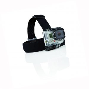 Montaje de cinta en la cabeza GoPro